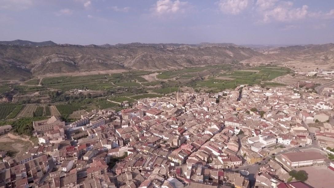 Vista aérea de Calanda