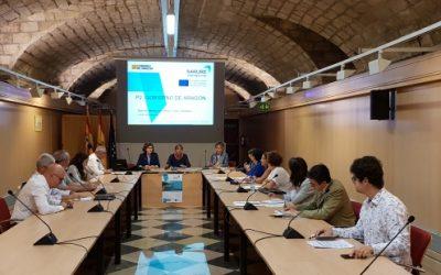 Aragón presenta en Europa, dentro del proyecto Sarure