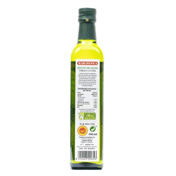 Aceite de oliva virgen extra DO Bajo Aragón