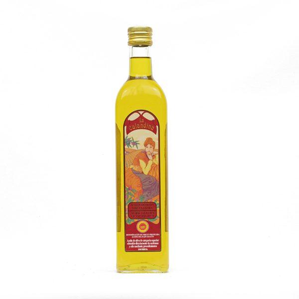 Aceite de oliva Virgen Extra Ecológico de 750 ml.