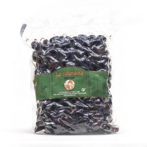 Aceituna negra de Aragón de la variedad empeltre