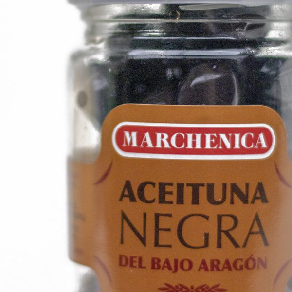 Aceituna negra Aragón cristal