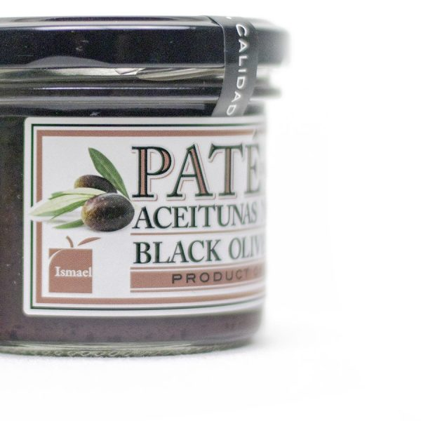Paté o pasta de Aceituna negra de Aragón