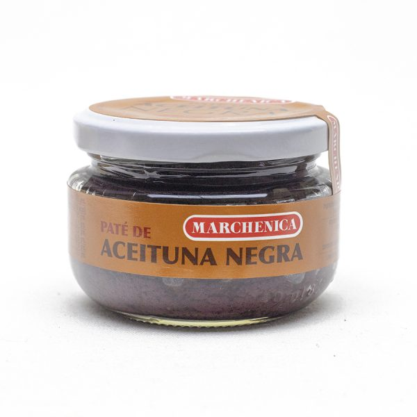 Pate de aceituna negra 120 grs.