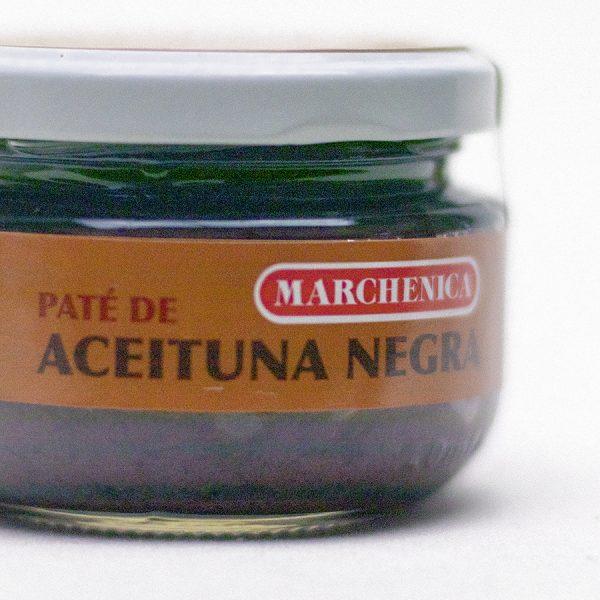 Pate de aceituna negra 120 grs. cristal