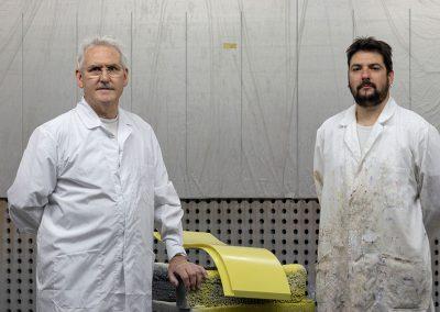 Fernando Gimeno dos generaciones