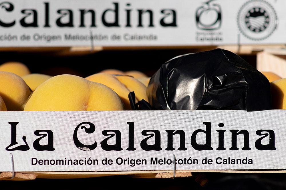 La Calandina Caja Melocotón